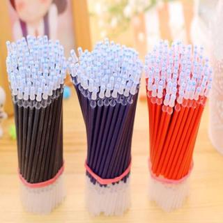 Gel Pen Refill DIY Office Stationery and School Supplies Smooth Writing Black Blue and Red Ink 0.5