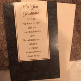 Graduation Card by American Greetings