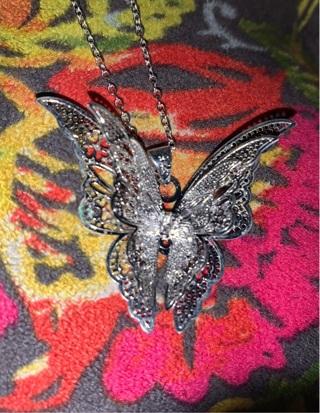 #2 3D Butterfly Necklace |~please read description ~|