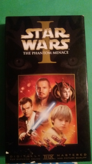 vhs star wars the phantom menace free shipping