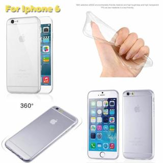 Clear Crystal Soft TPU Slim Silicone Cover Case For iPhone 6 6s plus 5 5s 4s