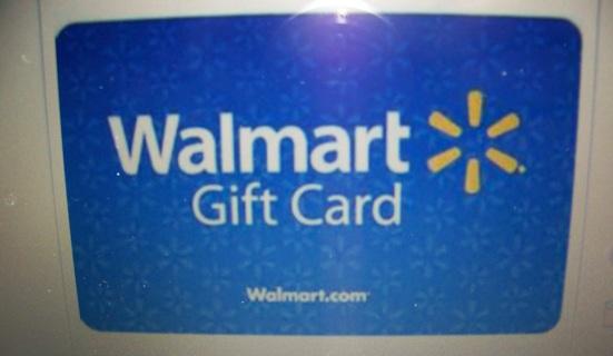 $5.00==Walmart gift card