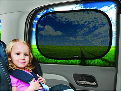 """20""""x12"""" Cling Sunshade for Car Windows - Sun light, Glare and UV Rays Protection for Your Child"""
