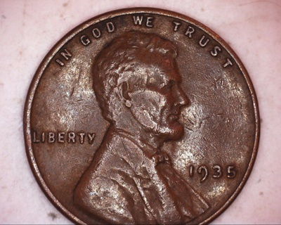 1935 lincoln wheat penny