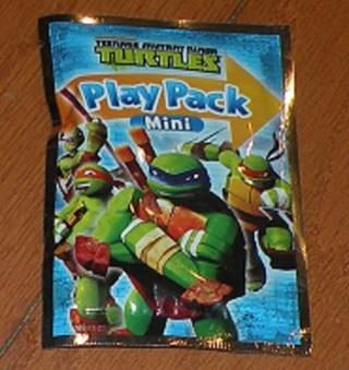Teenage Mutant Ninja Turtles Play Pack Mini Grab & Go Activity For Toddlers Kids New