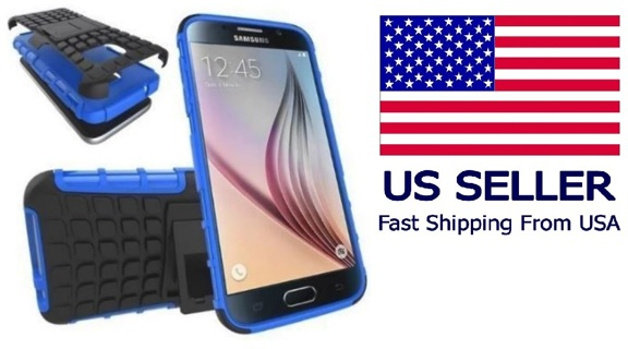 SAMSUNG GALAXY s7 CELL PHONE CASE HYBRID Scratch-Resistant Shock Absorbent Dual Layer Armor