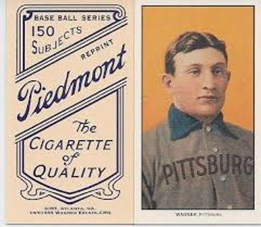 Free 1909 T206 Piedmont Tobacco Honus Wagner Pittsburgh Pirates