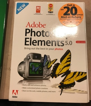 Adobe elements 5.0 new