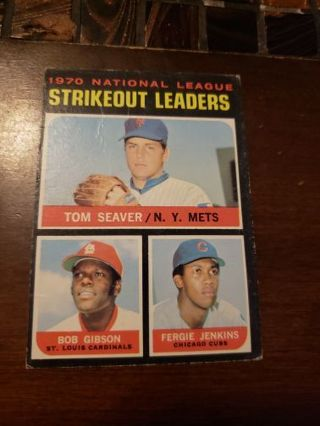 1971 National league Strikeout leaders