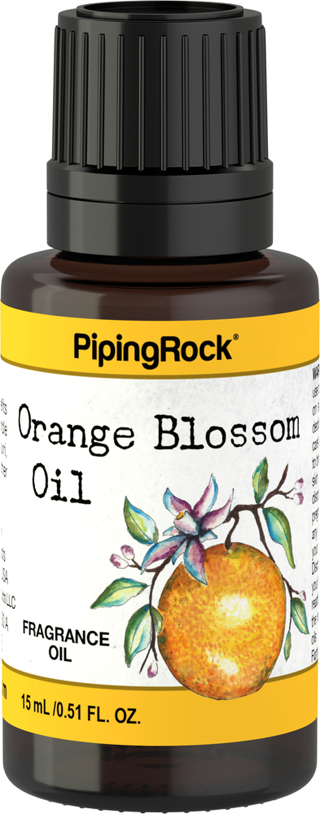 Orange Blossom Fragrance Oil, 1/2 fl oz (15 mL) Dropper Bottle