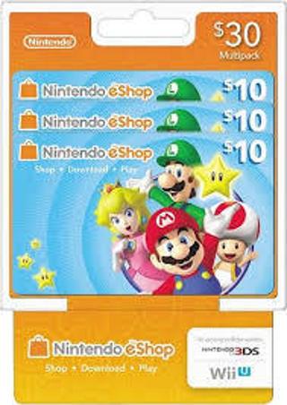 Free  (Nintendo) eCash - Nintendo eShop Gift Card  30 - Switch   Wii ... c0d00282a74