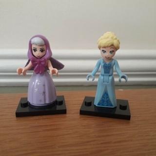 New Fairy Godmother/Cinderella Minifigure Building Toy Custom Lego