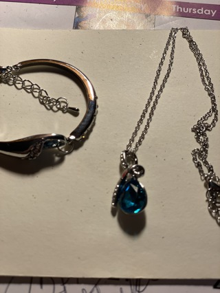 Necklace and bracelet set~New