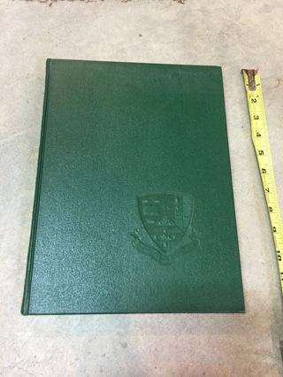 College Yearbook Drew University 1970