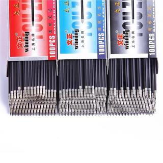 20Pcs/Set 0.7mm Ballpoint Pen Refill Black Red Blue 3 Colors Office Supplies Escolar Writing Pen H