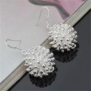 Silver Fireworks Earrings