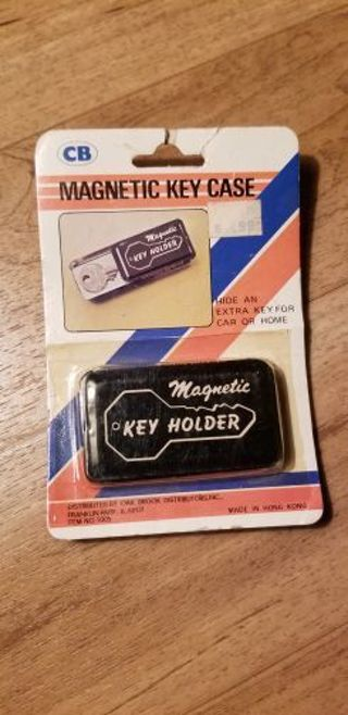 Magnetic key case