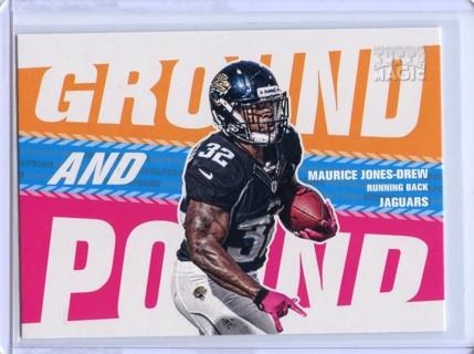 Maurice Jones-Drew-Jacksonville Jaguars 2013 Topps Magic Ground And Pound #GAP-MJD