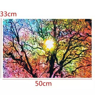 New Sun Patterns Abstract Canvas Painting Nature Art Picture Poster Wall Picture 33*50cm Home Decor