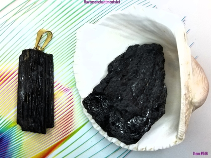 Black Tourmaline Stone of Protection/Also Blocks EMFs