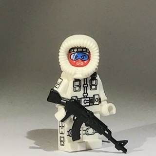 New Snow Job Minifigure Building Toy Custom Lego