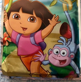 "BNIP ""Nickelodeon: Dora The Explorer"" Grab & Go Play Pack. Crayons / Stickers / Coloring Book"
