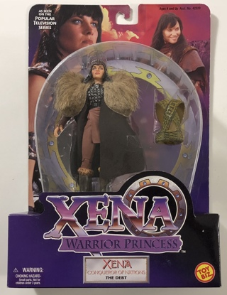 """Xena Warrior Princess Conqueror Of Nations The Debt Toy Biz 6"""" Action Figure 1999 - NEW In Package!"""