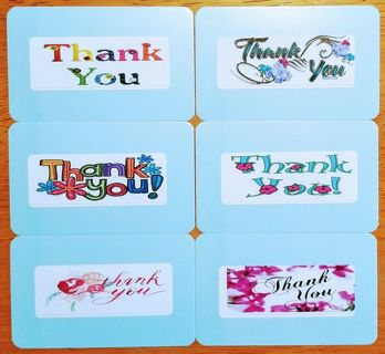 (TY) Feedback CARDS to personalize ☆ ShipsFREE in US*