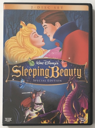 Disney Sleeping Beauty Special Edition 2-Disc DVD Movie With Case and Artwork - NM Discs!