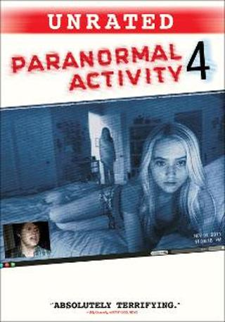 Paranormal Activity 4(Unrated)- UV Code Only- No Discs