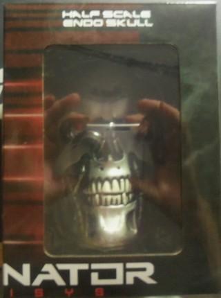 Half scale Endo skull from Terminator