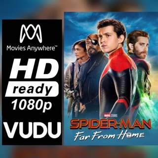 SPIDER-MAN: FAR FROM HOME HD MOVIES ANYWHERE CODE ONLY