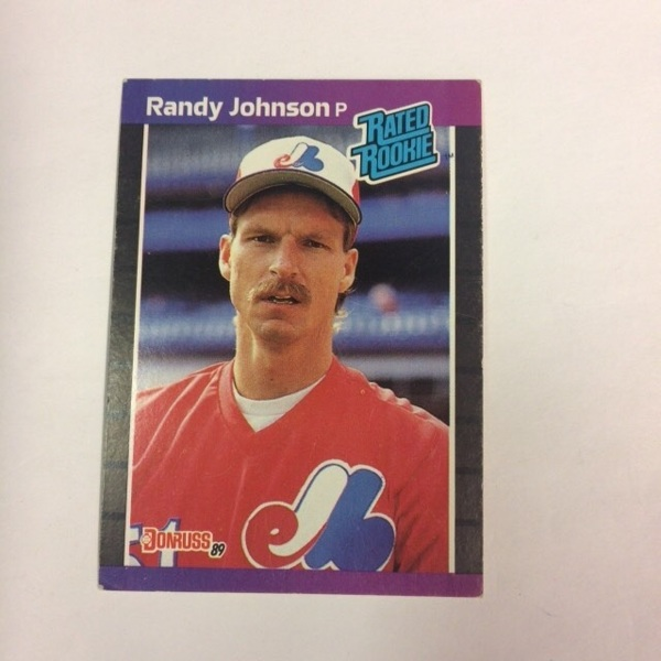 Free: 1989 Donruss Rated Rookie #42 P Randy Johnson