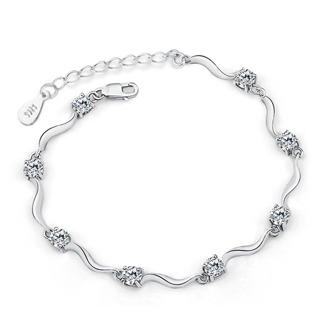 Crystal bracelet cute fashion wild retro jewelry