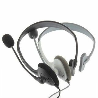 New Headset Headphone Adjustable Earphone with Microphone Mic for Xbox 360 GP