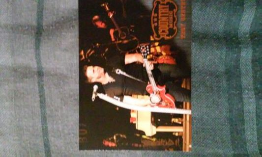 Troy Gentry- Country music card