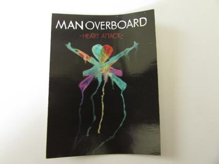 Man Overboard Heart Attack Concert Sticker