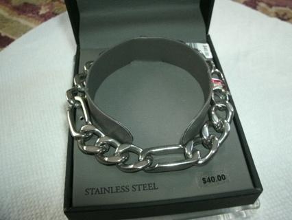 Chunky Figaro Chain Bracelet NIB