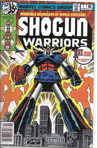 Shogun Warriors #1 issue Collector's item! Marvel Comic Group