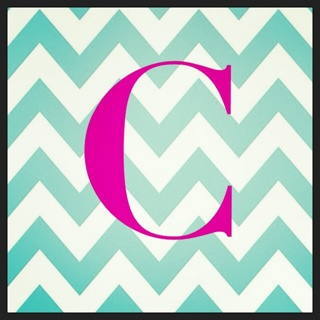 c initial chevron wallpaper - photo #4