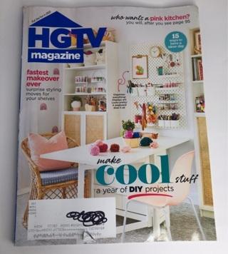 HGTV January / February 2021 new issue magazine decor