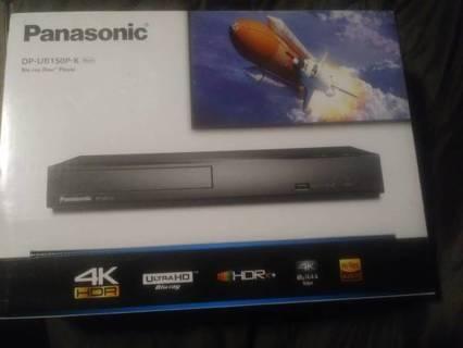 Brand New Panasonic HDR 4K UHD Blu-ray Disc Player
