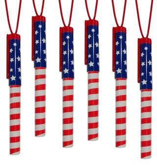 ArtCreativity Patriotic Pen Necklaces, Pack of 12