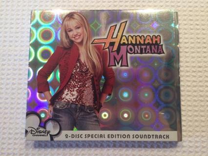 Hannah Montana 2 Disc Special Edition Soundtrack CD & DVD Disney