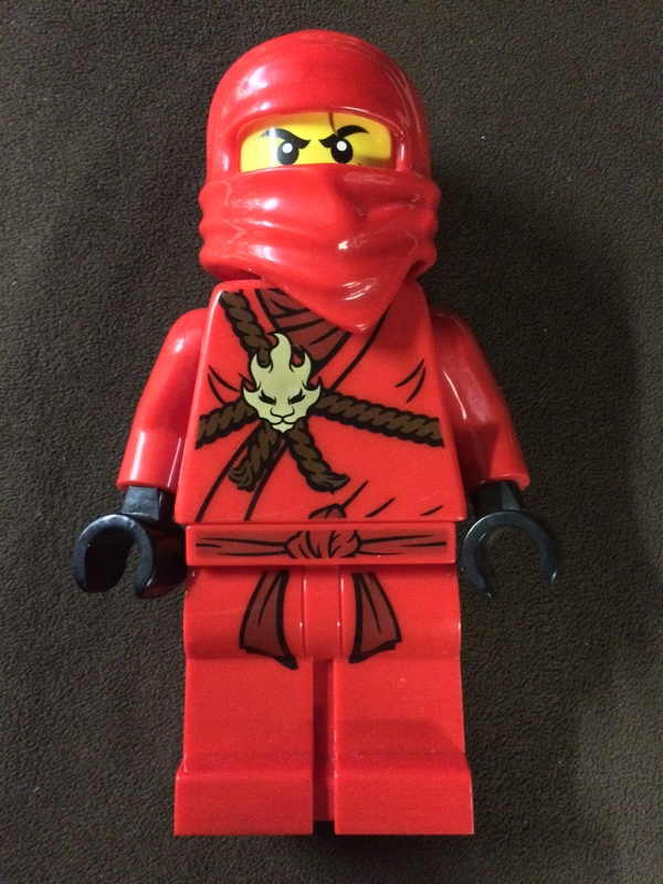 "free 13"" lego ninjago kai coin bank limited edition"