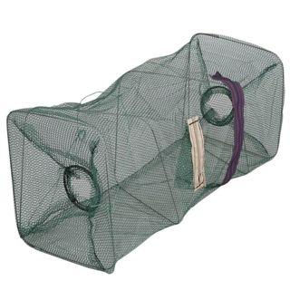 Folding Fishing Net Baits Crab Fish Crawdad Shrimp Minnow Fishing Bait Trap Cast Dip Net Cage Mesh