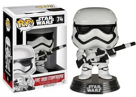 1 NEW Funko Pop Star Wars: Heavy Artillery First Order Stormtrooper Vinyl Figure Toy FREE SHIPPING