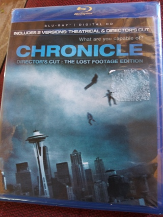 Chronicle Blu-ray and digital HD Factory sealed