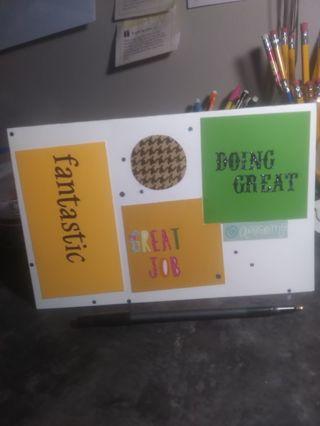 Handmade Oversized Greeting Card