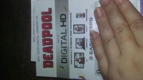 Deadpool movie code